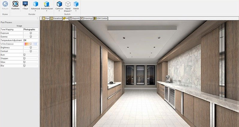 Hexagon software helps woodworkers deliver designer handle-less cabinets and adapt to future trends